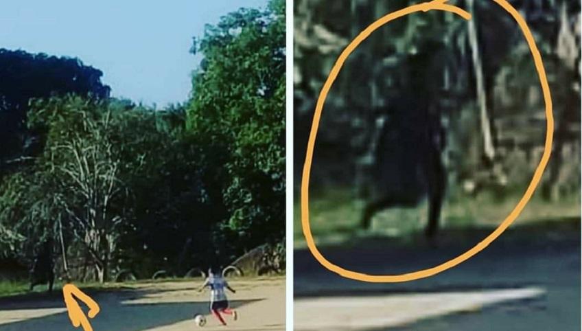 En Carreto, San Andrés de Sotavento, afirman que tomaron una foto del diablo
