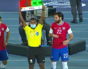 Ben Brereton debuta con Chile