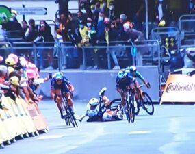 Caída de Caleb Ewan y Peter Sagan: Tour de Francia