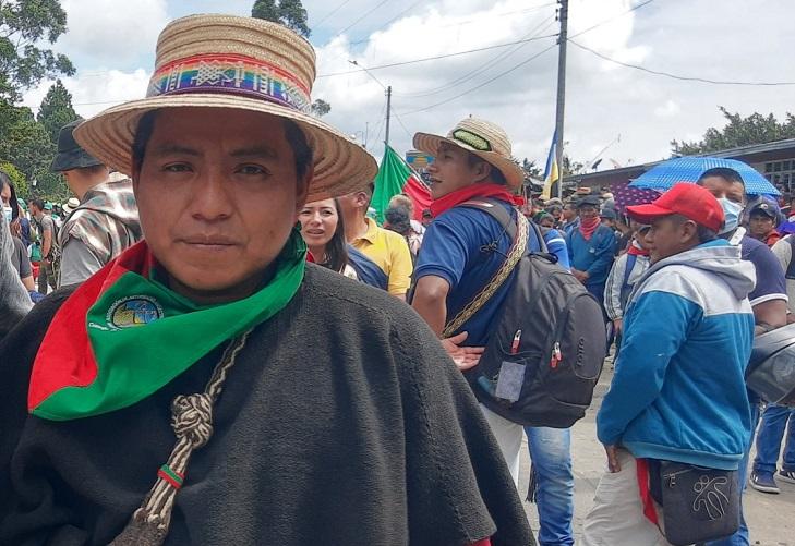 Hermes Pete anuncia que La Minga se tomará Bogotá