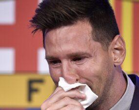 Messi - Estábamos convencidos de que íbamos a seguir aquí, en nuestra casa