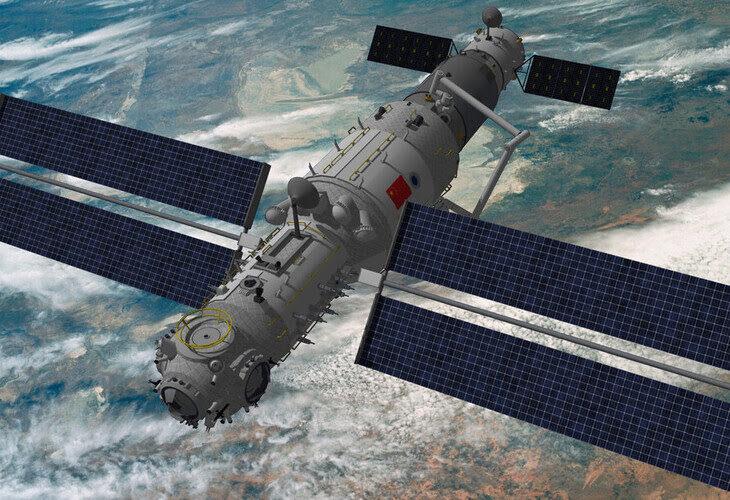 Estacion Espacial china Tiangong (1)